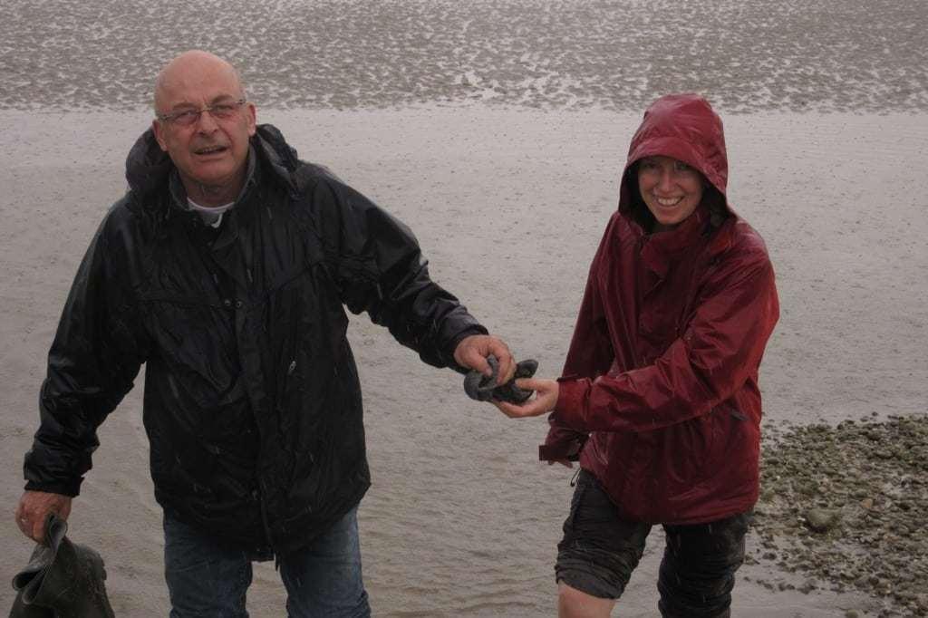 Traversée de la Baie sous la pluie, Sarah et Olivier, les beaux jours en Baie de Somme
