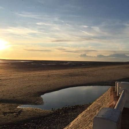 Calme et sérénité du Crotoy hors saison, les beaux jours en Baie de Somme, chambre et tables d'hôtes