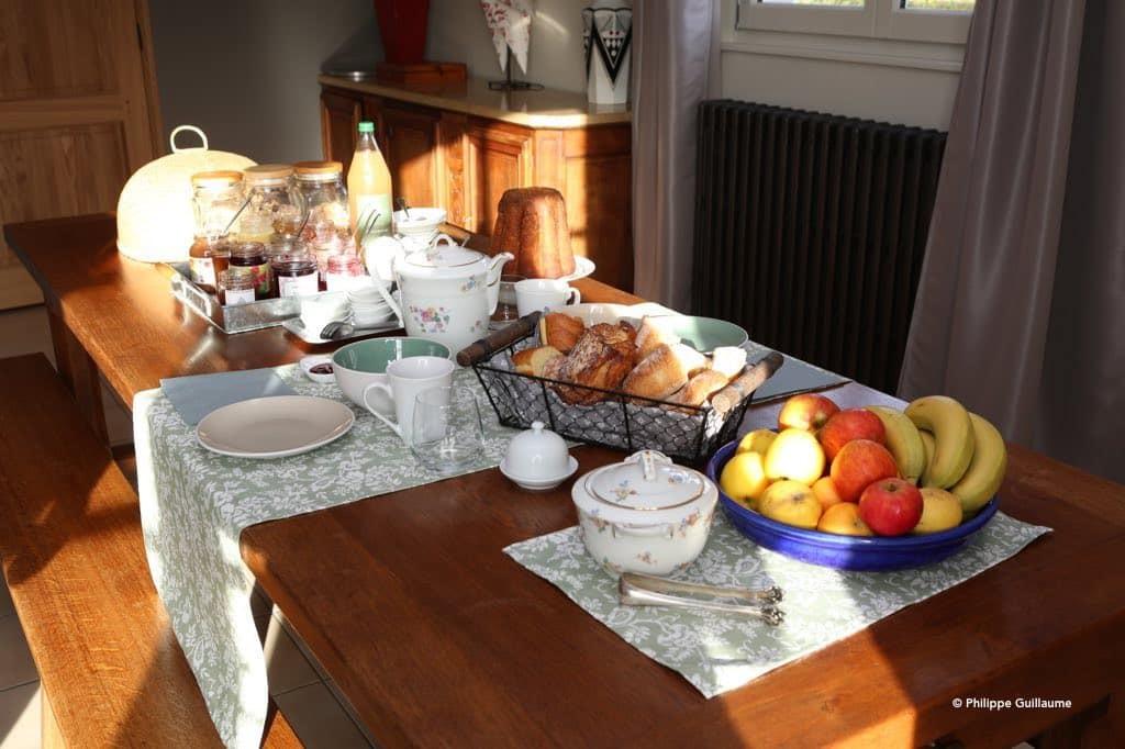 le petit déjeuner inclus, chambre et table d'hôtes les beaux jours en Baie de Somme. Le Crotoy, Saint Valery sur Somme, Parc du Marquenterre