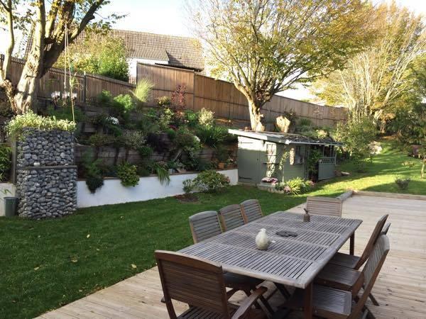Côté jardin, la terrasse. Les beaux jours en Baie de Somme, Chambres et table d'hôtes, classées 3 épis Gîtes de France