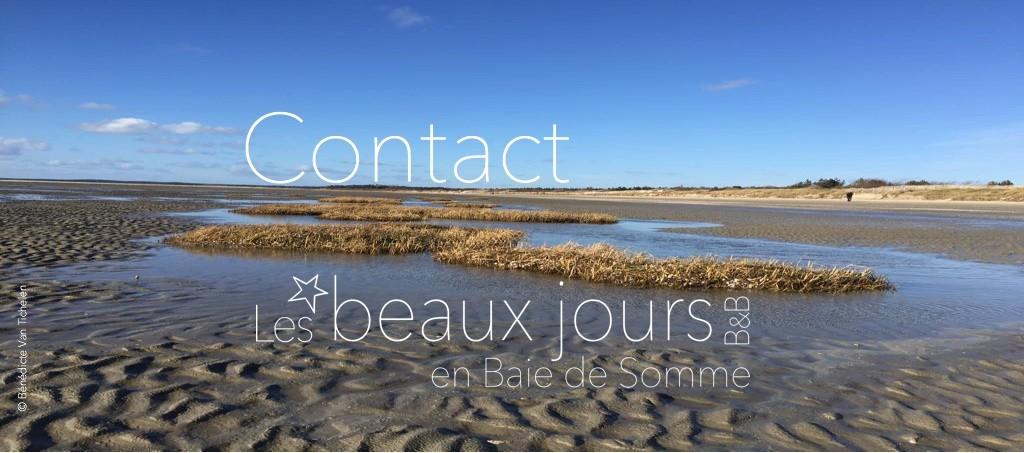 contact les beaux jours en Baie de Somme, chambres & tables d'hôtes