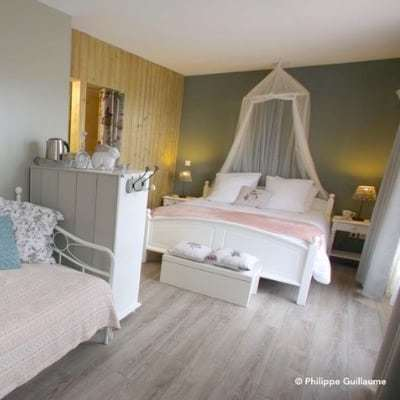 Chambre en Baie de Somme. Dormir en Baie de Somme, en chambre familiale les petits papillons