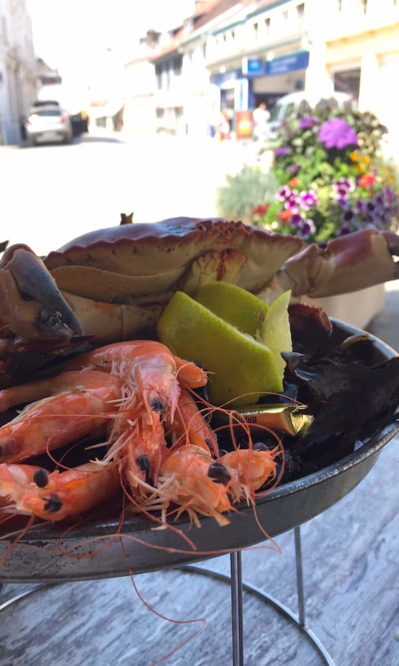 Restaurants en Baie de Somme - Fruits de Mer -  le Commerce au Crotoy