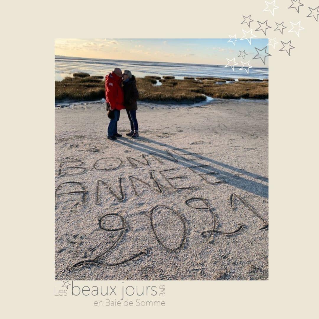 Bonne année en baie de Somme