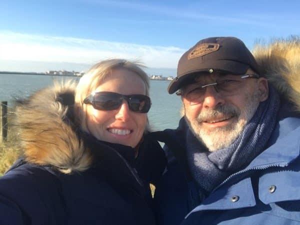 Sarah et Olivier les beaux jours en baie de somme en hiver