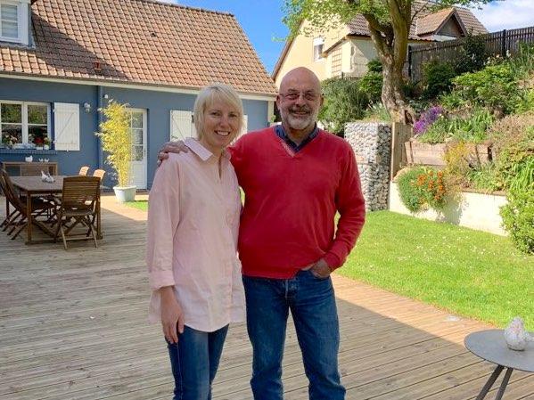 Sarah et Olivier chambres d'hôtes les beaux jours en baie de Somme